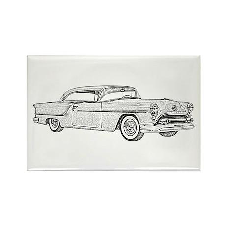 1954 car Rectangle Magnet (10 pack)
