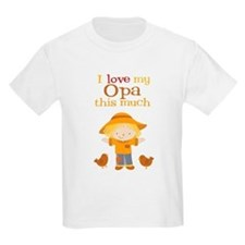 Scarecrow I Love Opa T-Shirt