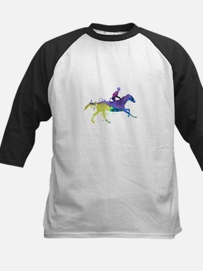Horse and jockey Baseball Jersey