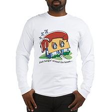 Dachshund hanging' around Long Sleeve T-Shirt