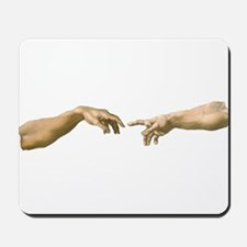 Michelangelo Creation of Adam Mousepad