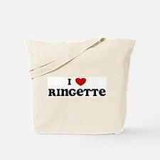 I Love Ringette Tote Bag