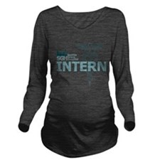 Seattle Grace Intern Long Sleeve Maternity T-Shirt