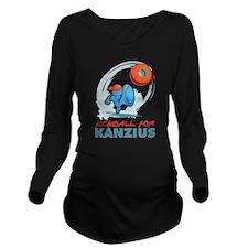Kickball for Kanzius Long Sleeve Maternity T-Shirt