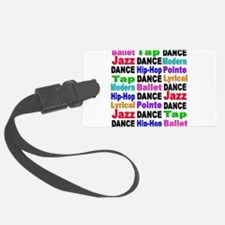Dance Styles #2 Luggage Tag