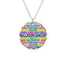 Ballroom Words Necklace