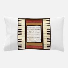 Piano Keys Sheet Music Song K. Hubler Pillow Case