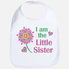 I am the Little Sister Bib