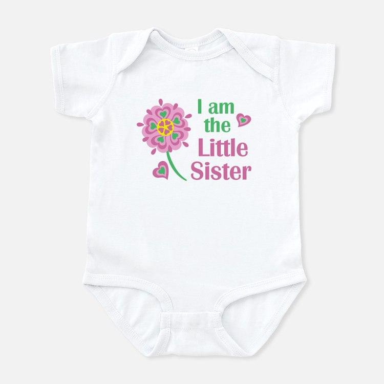 I am the Little Sister Infant Bodysuit