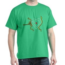 Grinch Heart Grew Two Sizes T-Shirt