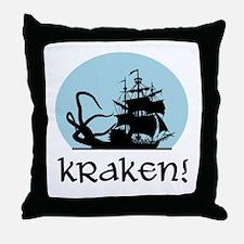 Kraken! Throw Pillow