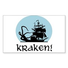 Kraken! Rectangle Decal