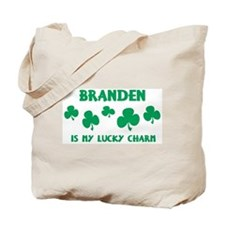 Branden is my lucky charm Tote Bag