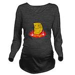 spongehahaha copy.jpg Long Sleeve Maternity T-Shir