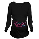 Little cowgirl Dark Maternity Long Sleeves