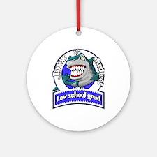 Law School Grad Ornament (Round)