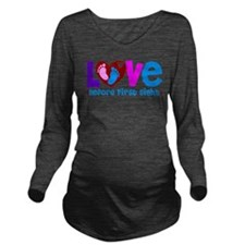 Love Before First Sight Long Sleeve Maternity T-Sh