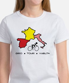 Grand Tour Maps T-Shirt