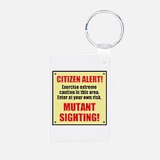 Citizen Alert! Mutants! Keychains