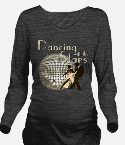 Retro Dancing with the Stars Long Sleeve Maternity