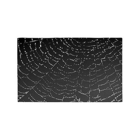 Shimmering Spiderweb 3'x5' Area Rug