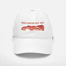 Make Bacon Not War Baseball Baseball Baseball Cap