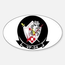 VF-24 Fighting Renegades Oval Decal