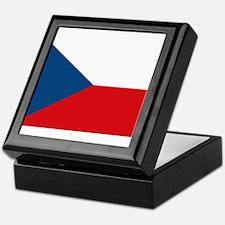 Flag of the Czech Republic Keepsake Box