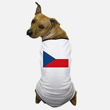 Flag of the Czech Republic Dog T-Shirt