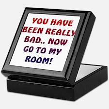 U HAVE BEEN REALLY BAD..2 Keepsake Box
