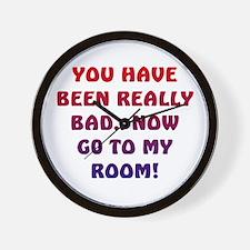 U HAVE BEEN REALLY BAD..2 Wall Clock
