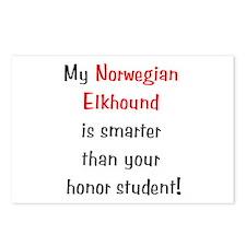 My Norwegian Elkhound is smarter... Postcards (Pac