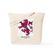 Lion - Burnett of Leys Tote Bag