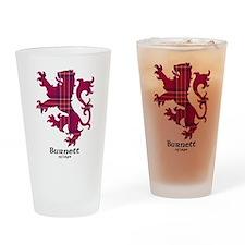 Lion - Burnett of Leys Drinking Glass