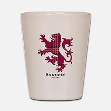 Lion - Burnett of Leys Shot Glass