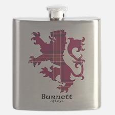 Lion - Burnett of Leys Flask