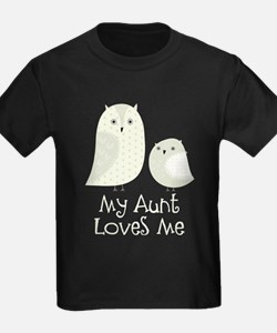 My Aunt Loves Me Owls T-Shirt