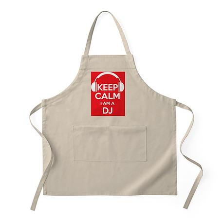 Keep Calm I'm a DJ Apron