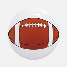 Football illustration Ornament (Round)
