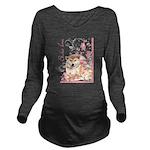 blossom.png Long Sleeve Maternity T-Shirt