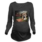 godmadedogs.png Long Sleeve Maternity T-Shirt