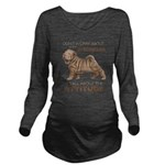 attitude.png Long Sleeve Maternity T-Shirt