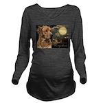 portrait5.png Long Sleeve Maternity T-Shirt