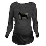 warp.png Long Sleeve Maternity T-Shirt