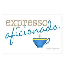 Expresso Aficionado Postcards (Package of 8)