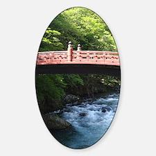 Shin-kyo Bridge Sticker (Oval)