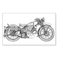 1935 Motorcycle Decal