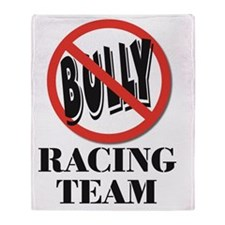 No Bull Racing Team Throw Blanket