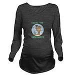 camel toe university Long Sleeve Maternity T-Shirt