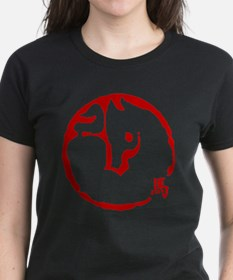 Chinese Zodiac Horse Abstract Tee